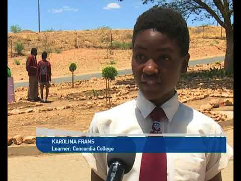 Concordia College awards learners for their involvement in a tree-planting campaign - NBC