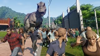 All Dinosaurs Escape!!!! - Jurassic World Evolution part 05 (FINALE)