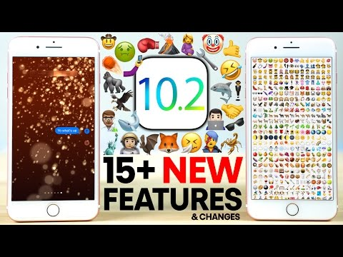 iOS 10.2 Beta 1 - 15+ New Features Review!