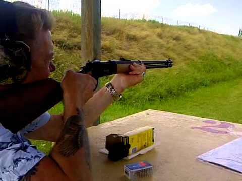Mossberg 464 30-30 in action