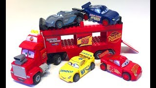 Тачки Лего Мультики Машинки Тюнинг Мак Трейлер Видео для Детей