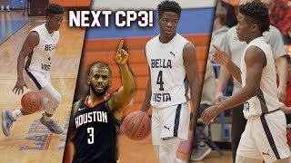 Zion Harmon Is The NEXT CP3! BEST PG in HS c/o 2021! ONLY A Sophomore!