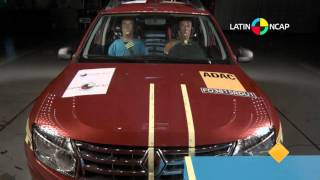 Crash test: Renault Duster
