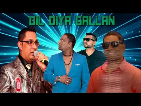 Indar Kanhai,Anil Bheem,Satnarine Ragoo & Rooplal G - Dil Diya Gallan [ 2k18 ]