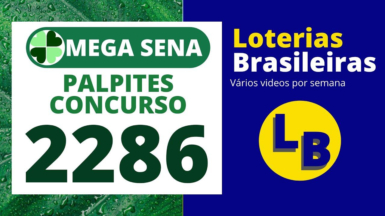 MEGA SENA 2286 DICAS PARA O PRÓXIMO CONCURSO (PLANILHA GRÁTIS)