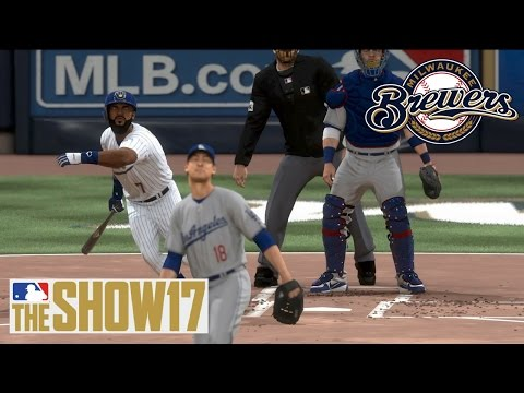 MLB The Show 17 Franchise - Milwaukee Brewers - Eric Thames is BACK!