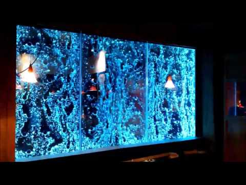 Custom Bubble Wall-Dancing Bubble Wall-Indoor Water Wall Feature