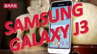 Видео-обзор смартфона Samsung Galaxy J3