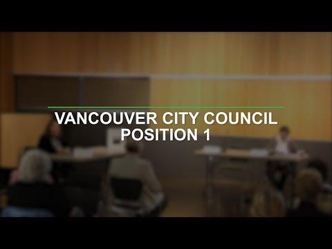 Vancouver City Council Position 1