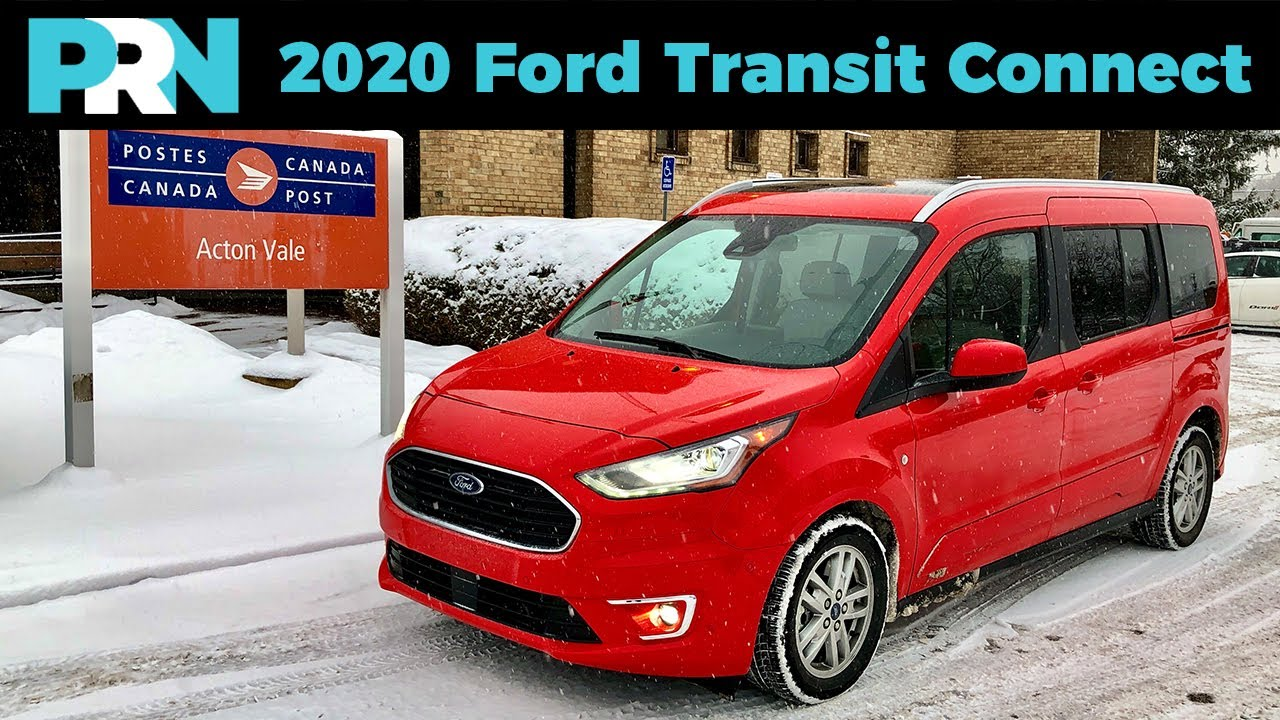the chicken tax van 2020 ford transit connect titanium wagon full tour review youtube the chicken tax van 2020 ford transit