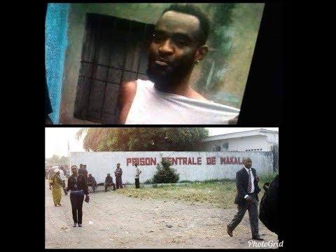 URGENT:SUIVEZ LES IMAGES INEDITES NDENGE BERCY AZOKENDE PRISON AVEC CHAKA KONGO TRES CHOQUER