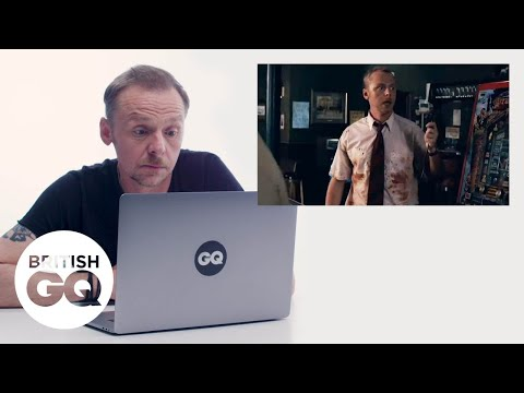 Simon Pegg Looks Back At Shaun Of The Dead: 'We Literally Paid The Zombies A Pound' | British GQ