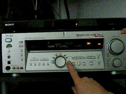 sony suround receiver youtube rh youtube com Sony STR De675 Review Dolby Digital DTS Sony 32 Bites