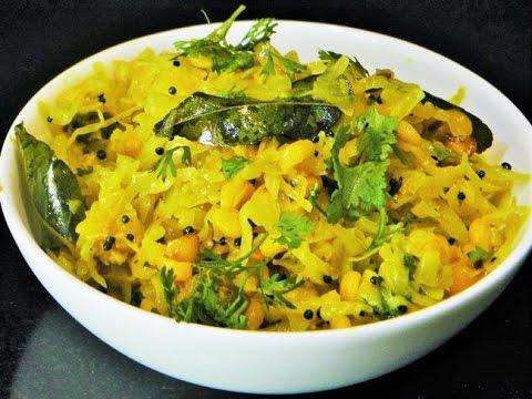 Kobichi Bhaji Cabbage Masala by madhurasrecipe