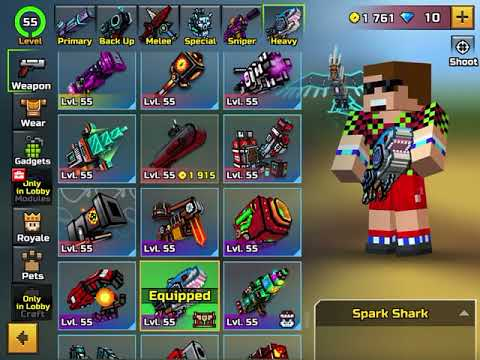 SPARK SHARK REVIEW IT IS THE MOST OP AND FUN GUN I HAVE EVER USED