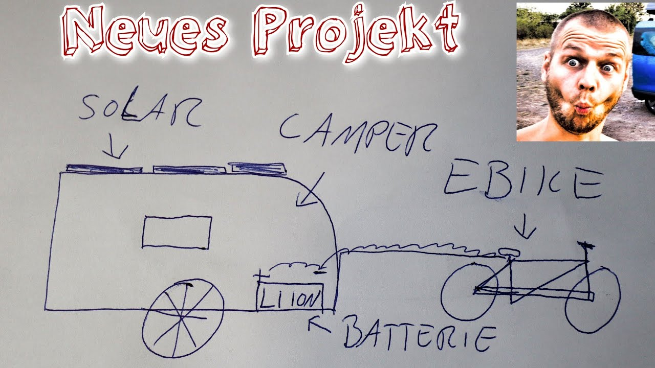 Projektvorstellung Diy Okocamper Solarbetriebenes