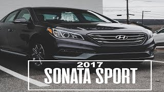 2017 Hyundai Sonata Sport with HUGE SAVINGS!!