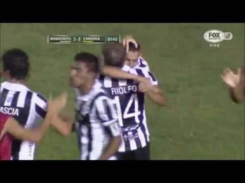 Montevideo Wanderers 3 - 2 Zamora Copa Libertadores 2015