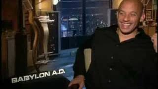Hilarious interview: The Zaz with Vin Diesel