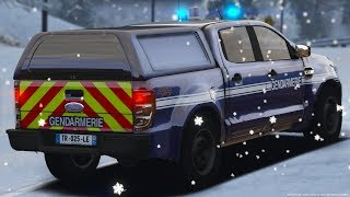 [GTA-LSPDFR] COURSE POURSUITE SUR DU VERGLAS | GENDARMERIE NATIONALE #161