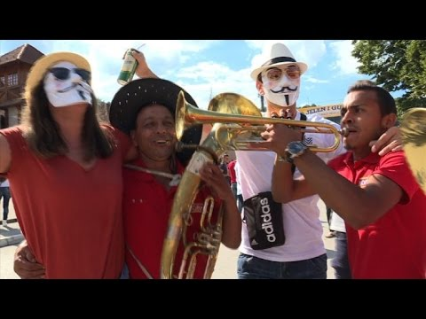 Serbia draws crowds for world's biggest trumpet fest