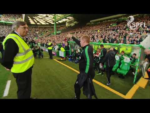 Neil Lennon given warm reception on Celtic return