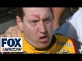 Kyle Busch Fights on Pit Road | 2017 LAS VEGAS | FOX NASCAR