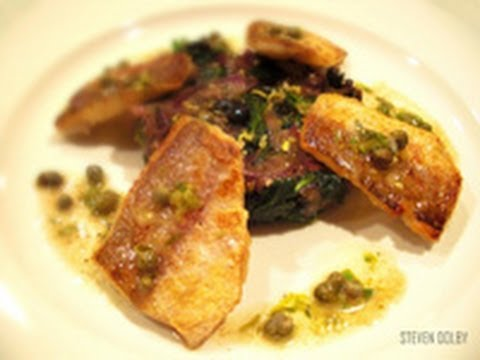 Pan Fried White Fish With Lemon Butter Caper Sauce Recipe