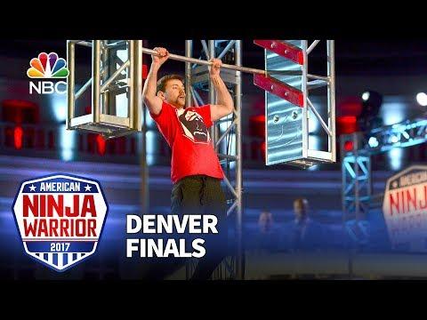 Dalton Knapp at the Denver City Finals - American Ninja Warrior 2017