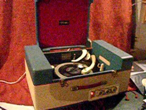 VOLMAR electric gramophone record player