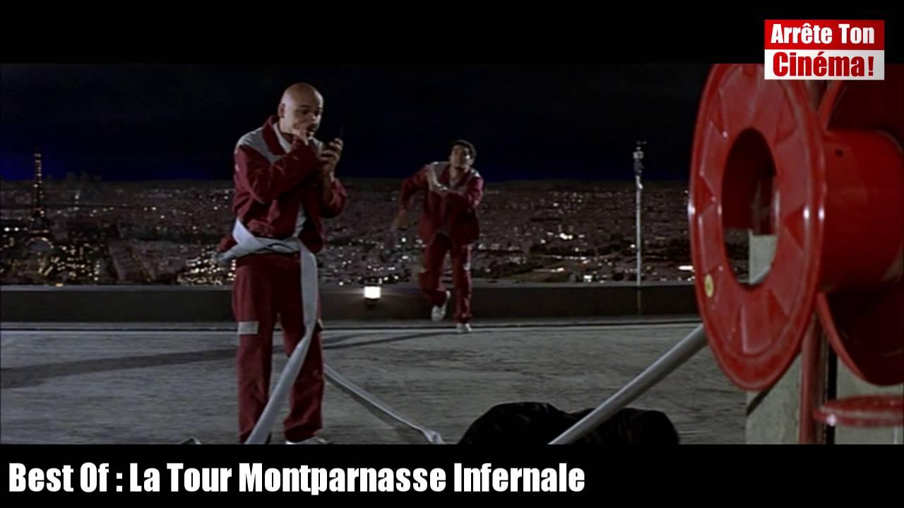 La Tour Montparnasse Infernale Eric Et Ramzy Sur Le Toit Porte