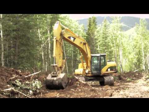 Spray Lake Sawmills Topsoil Reclamation Video