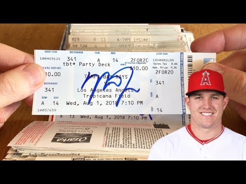 World's BIGGEST Collection Of Autographed MLB Ticket Stubs (Part 3)