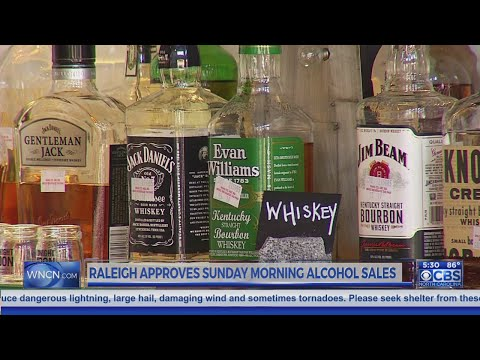 Raleigh City Council approves 10 a.m. Sunday alcohol sales