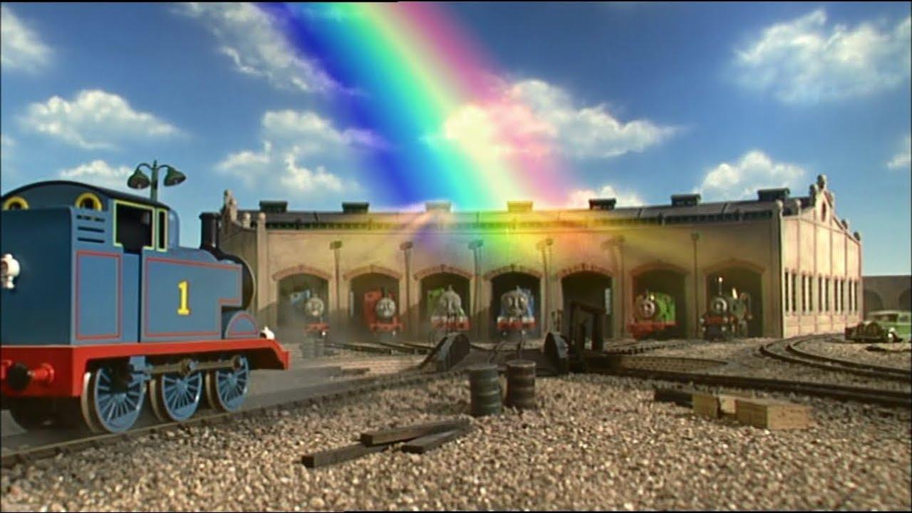 Video - Thomas y sus amigos - Thomas y el arco iris   Doblaje Wiki ...