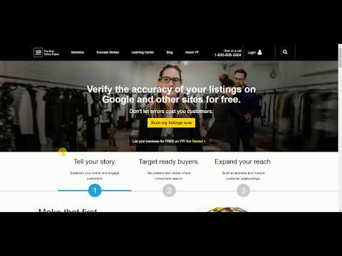 Local Business How-To: Creating A YellowPages Business Listing