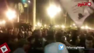 «الكينج» يشعل حفل جامعة القاهرة.. «عليّ صوتك» (اتفرج)