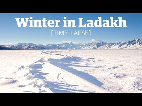 Winter in Ladakh - Timelapse