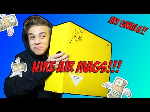 I BOUGHT NIKE AIR MAGS!!