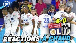 Les Lyonnais donnent la recette de leur écrasante victoire contre Angers