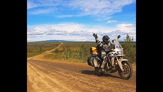 Riding the Dalton Highway to Prudhoe Bay