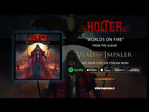 "Holter - ""Worlds On Fire"" (Official Audio)"