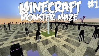 MONSTERIEN SOKKELO - Pelataan Monster Maze Minecraft