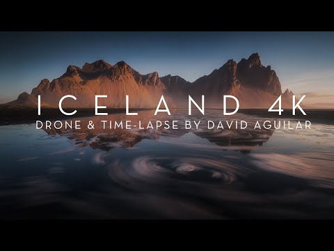 MAGIC ICELAND | Drone & Time-lapse 4K
