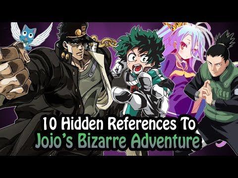 10 References To Jojos Bizarre Adventure Hidden In Other Works!