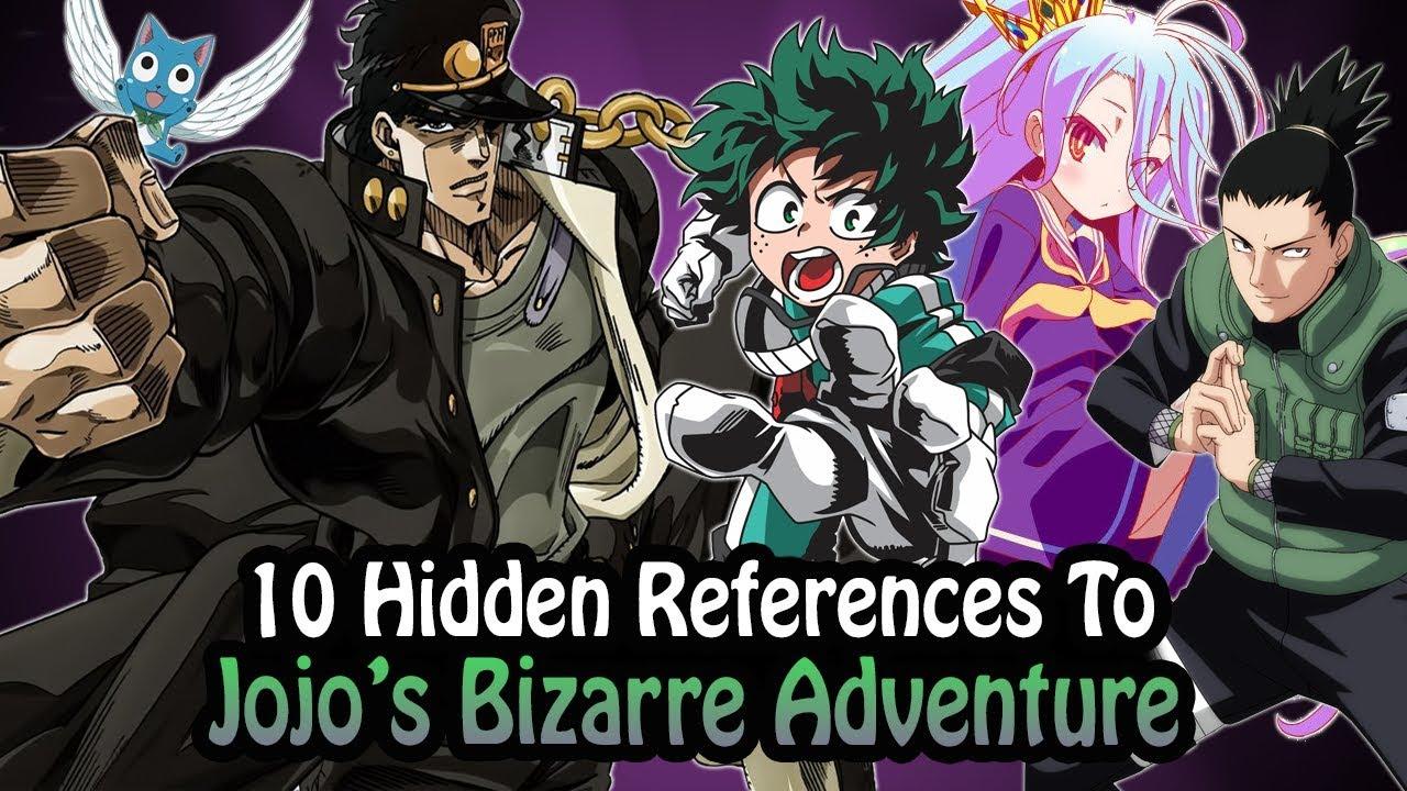 10 References To Jojo's Bizarre Adventure Hidden In Other Works!
