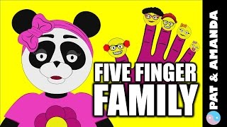 5 finger Family song for kids: Song Nursery Rhymes & Educational Cartoons (Pre K & Kindergarten)