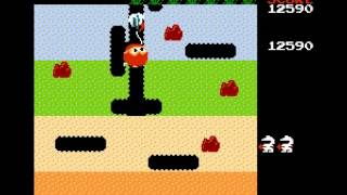 Dig Dug - Gameplay - User video