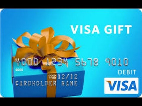 Don't get SCAMMED by Visa Gift Card! Buyers Beware!!