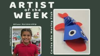 Artists of the Week 2016-17